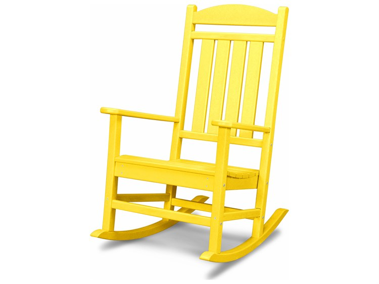 POLYWOOD® Presidential Recycled Plastic Rocker PatioLiving