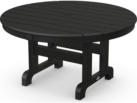 POLYWOOD® Traditional Recycled Plastic 36''Wide Round Chat Table
