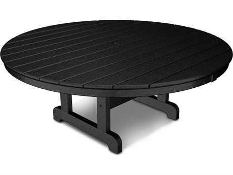 POLYWOOD® Traditional Recycled Plastic 48 Round Chat Table