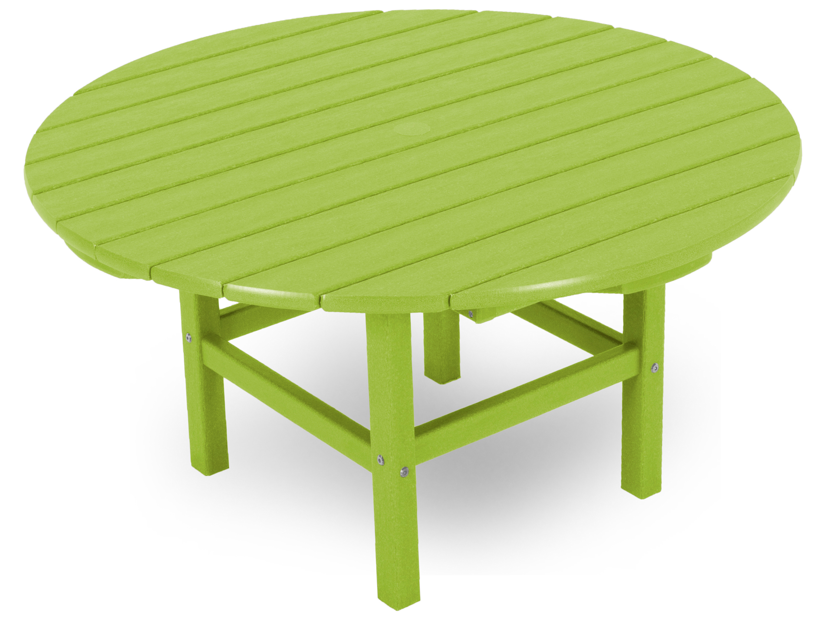 Polywood 174 Traditional Recycled Plastic 38 Round
