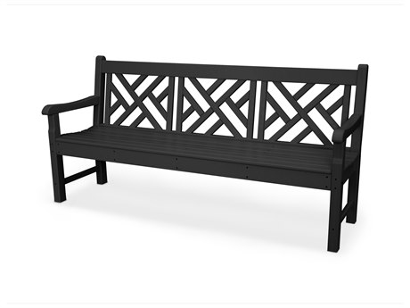 POLYWOOD® Rockford Recycled Plastic 72 Bench