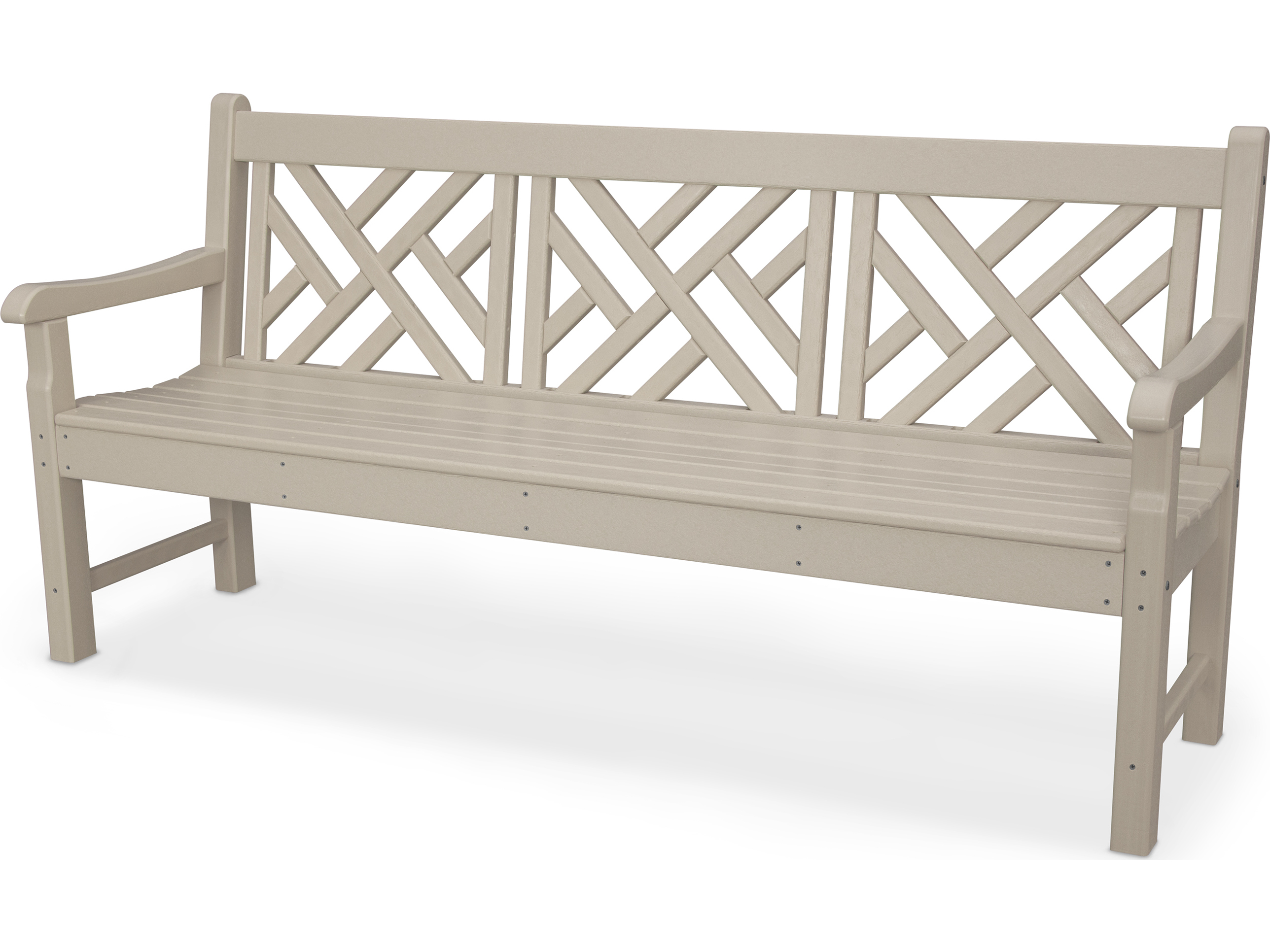 Polywood Rockford Recycled Plastic 72 Bench Rkcb72
