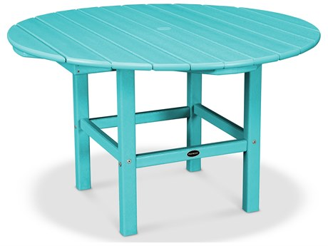 POLYWOOD® Kids Recycled Plastic 38''Wide Round Dining Table