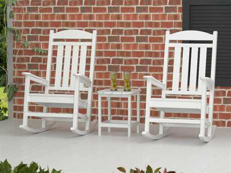 POLYWOOD® Rocker Conversation Lounge Set