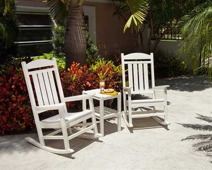 POLYWOOD® Rocker Recycled Plastic Lounge Set