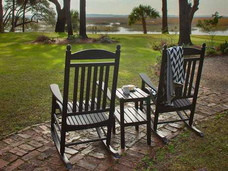 POLYWOOD® Rocker Recycled Plastic Lounge Set PWROCKERSET9