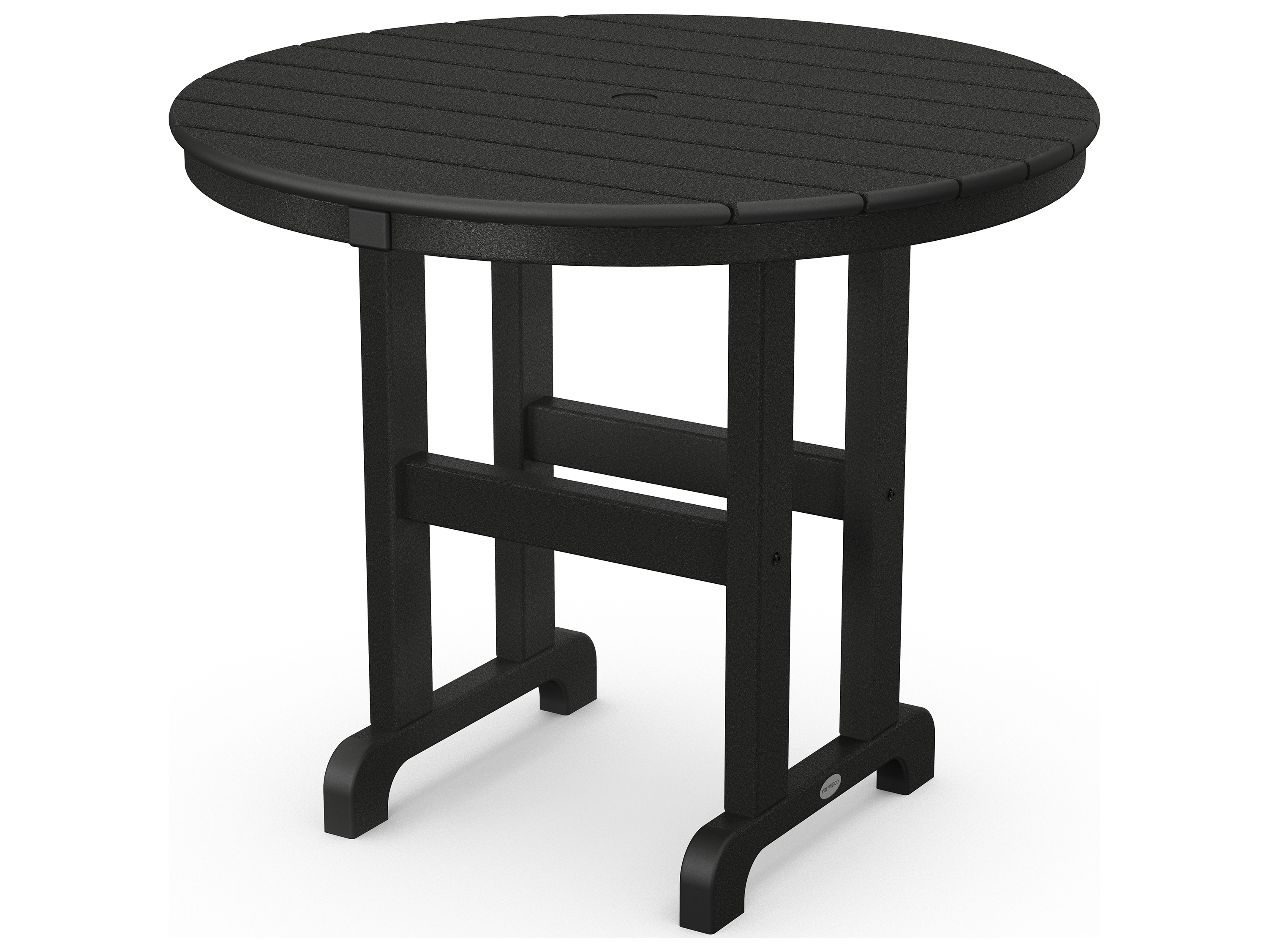 Polywood La Casa Cafe Recycled Plastic 36 Round Dining Table