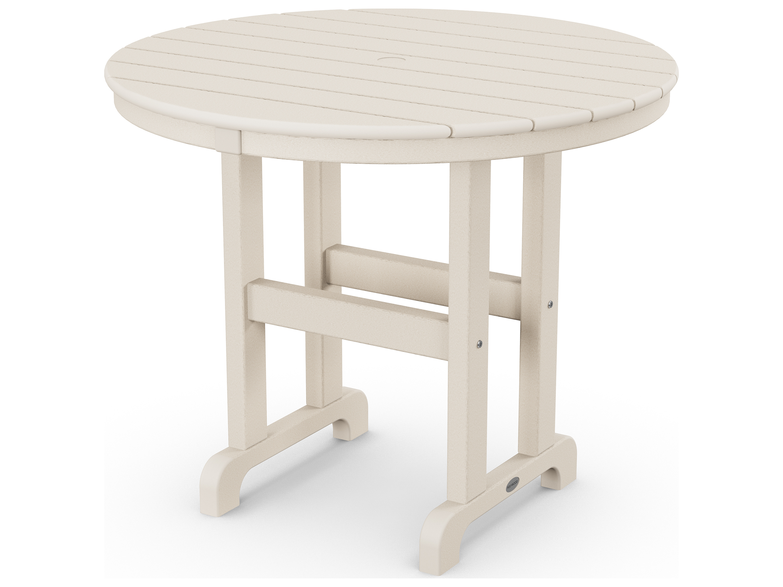 Polywood 174 La Casa Cafe Recycled Plastic 36 Round Dining