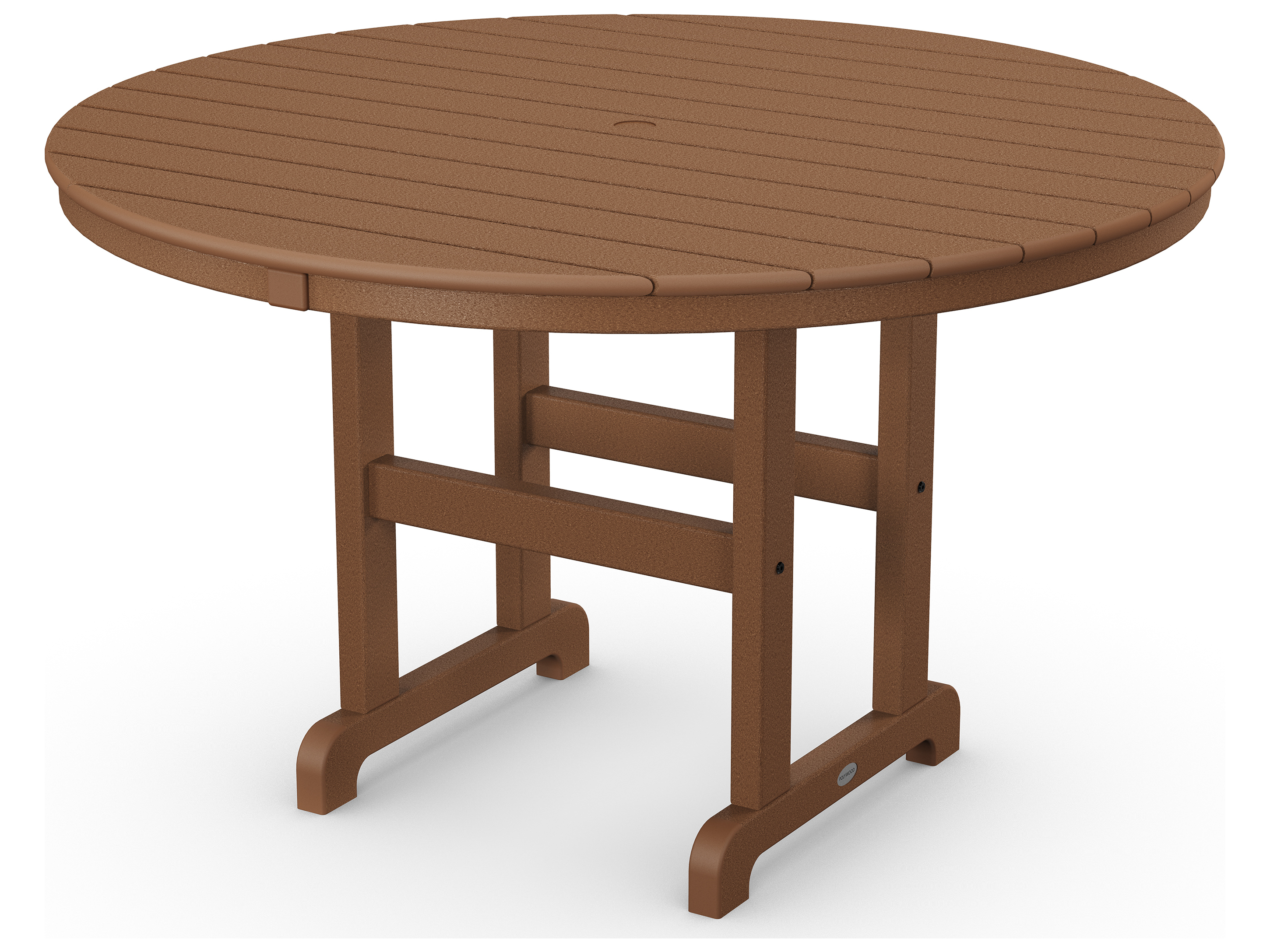 Polywood 174 La Casa Cafe Recycled Plastic 48 Round Dining