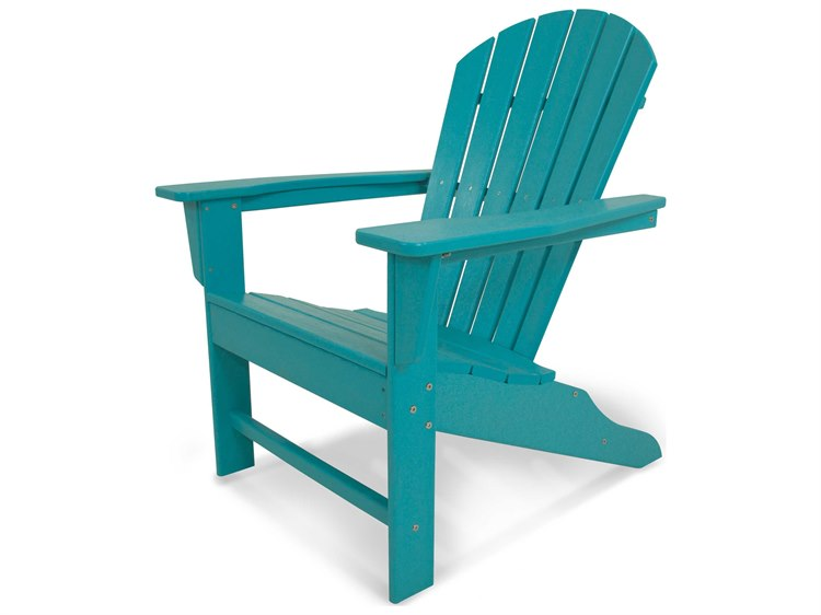 recycled plastic adirondack chairs. POLYWOOD® South Beach Recycled Plastic Adirondack Chair Chairs