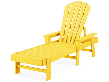 POLYWOOD® South Beach Recycled Plastic Chaise Lounge PatioLiving