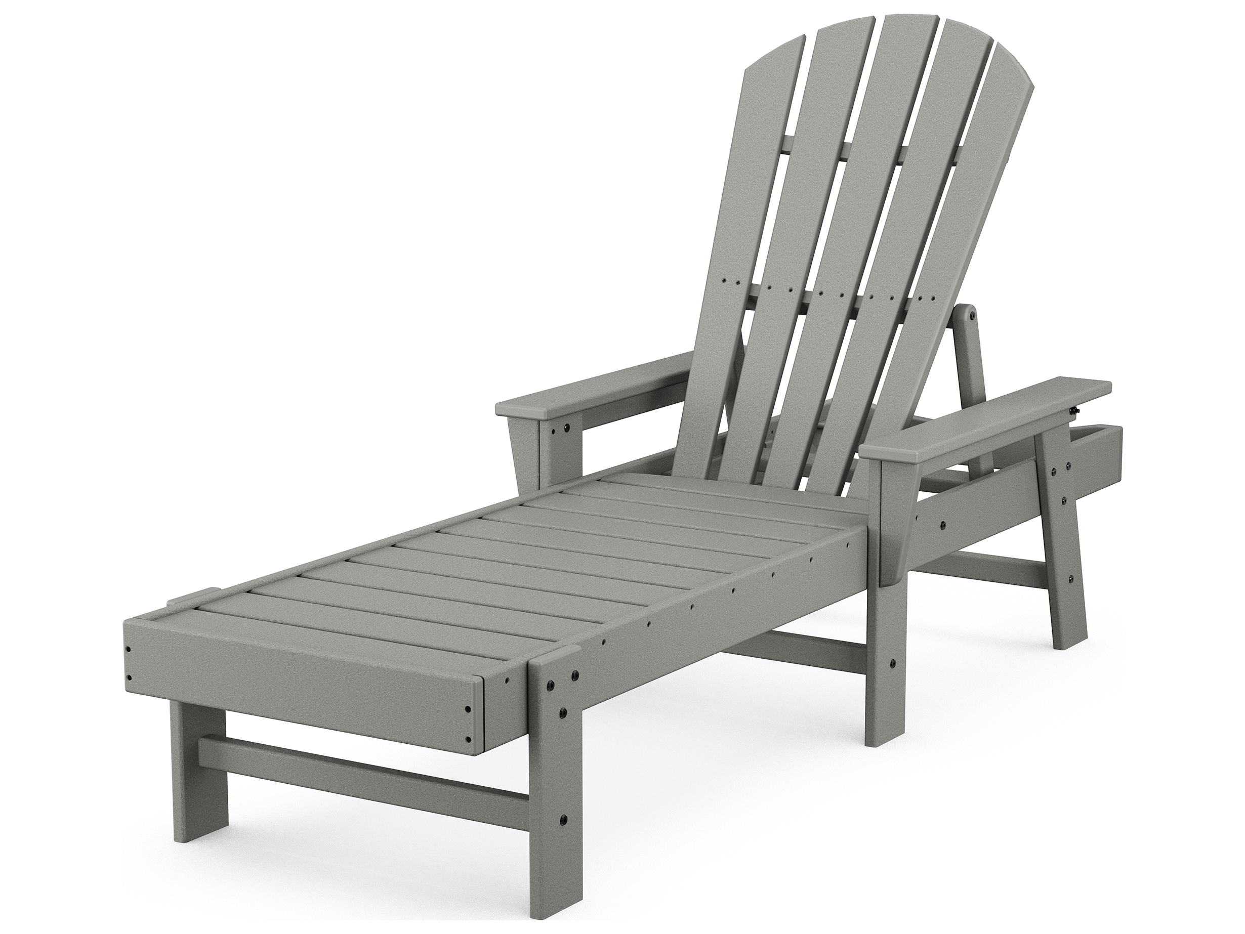 POLYWOOD South Beach Recycled Plastic Chaise Lounge