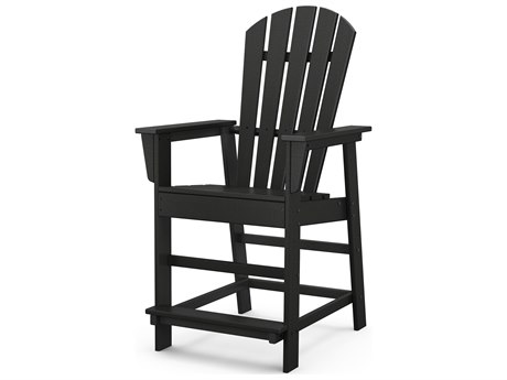 POLYWOOD® South Beach Recycled Plastic Counter Chair