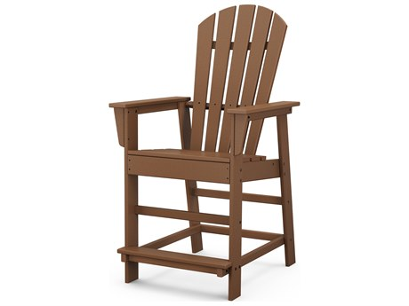 POLYWOOD® South Beach Recycled Plastic Counter Chair PatioLiving