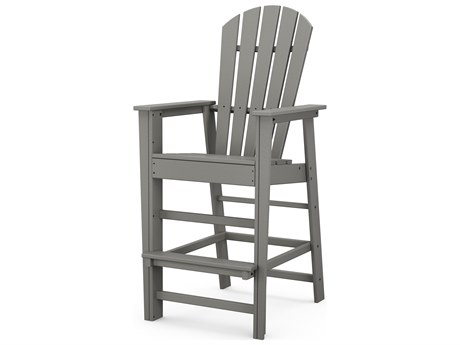 POLYWOOD® South Beach Recycled Plastic Bar Chair