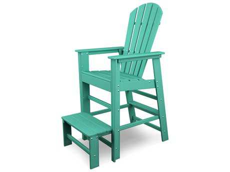 POLYWOOD® South Beach Recycled Plastic Lifeguard Chair
