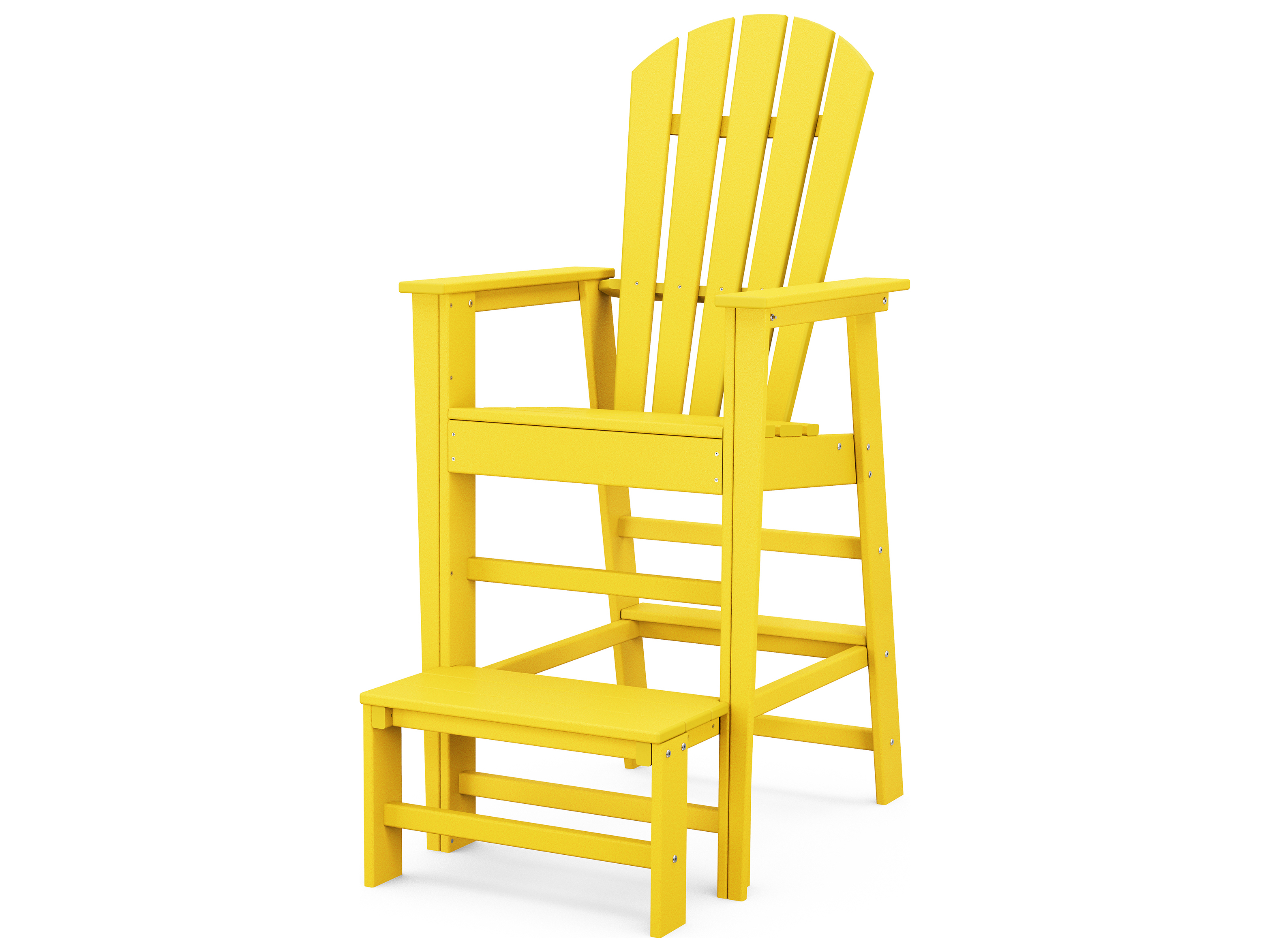polywood south beach recycled plastic lifeguard chair sbl30. Black Bedroom Furniture Sets. Home Design Ideas