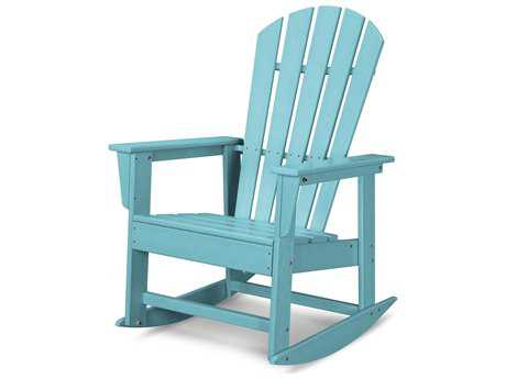 POLYWOOD® South Beach Recycled Plastic Adirondack Rocker