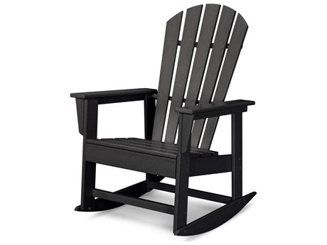 POLYWOOD® South Beach Recycled Plastic Adirondack Rocker PatioLiving