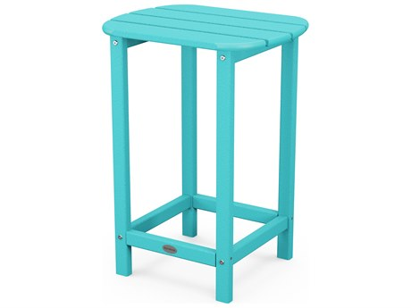 POLYWOOD® South Beach Recycled Plastic 19''W x 15''D Oval End Table