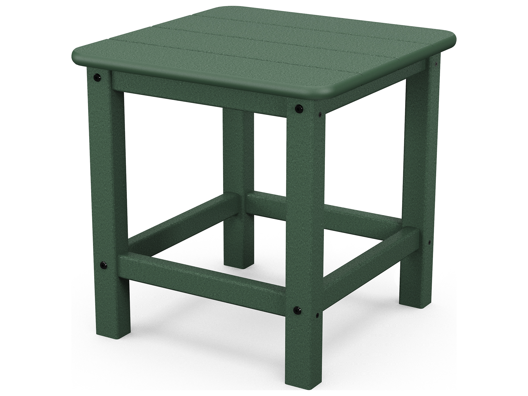 POLYWOOD® Seashell Recycled Plastic Adirondack 18 Square End Table