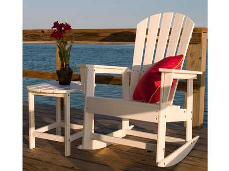 POLYWOOD® South Beach Recycled Plastic Rocker Set