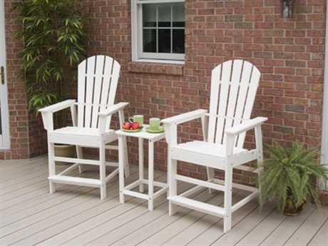 POLYWOOD® South Beach Recycled Plastic Counter Dining Set