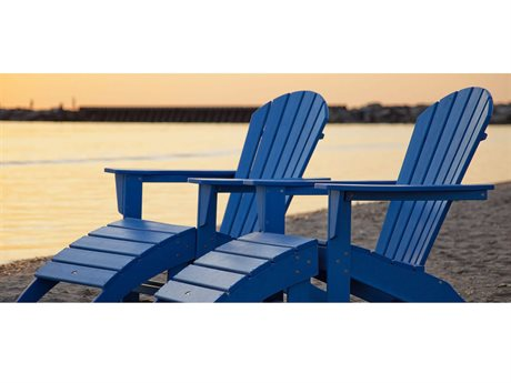 POLYWOOD® South Beach Recycled Plastic Lounge Set