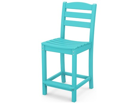 POLYWOOD® La Casa Cafe Recycled Plastic Counter Stool