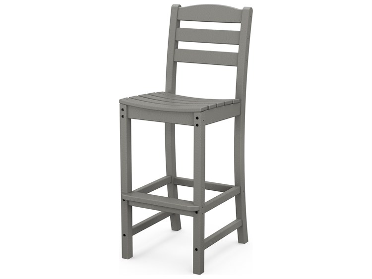 POLYWOOD® La Casa Cafe Recycled Plastic Side Bar Stool PatioLiving