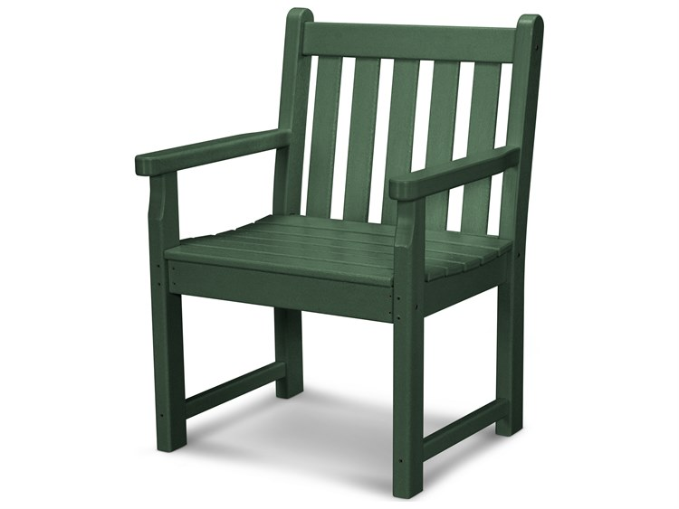 POLYWOOD® Traditional Garden Recycled Plastic Dining Chair PatioLiving
