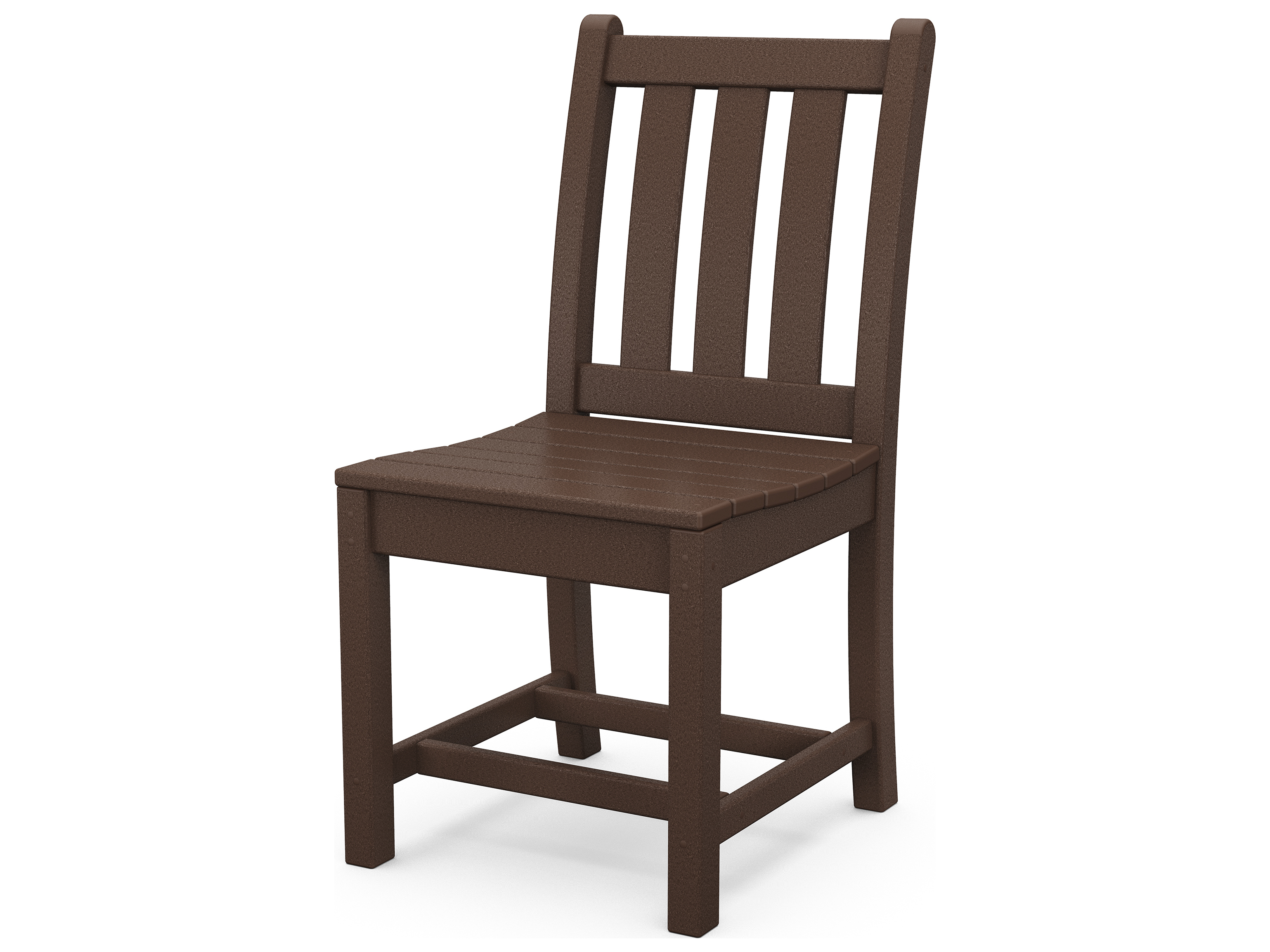 Polywood Traditional Garden Recycled Plastic Dining Chair Pwtgd100