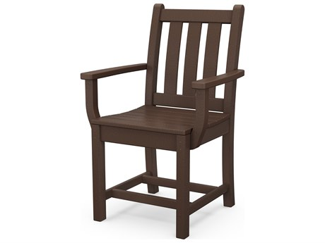 POLYWOOD® Traditional Garden Recycled Plastic Dining Chair