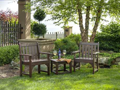 POLYWOOD® Traditional Garden Recycled Plastic Lounge Set PWTRADDINSET2