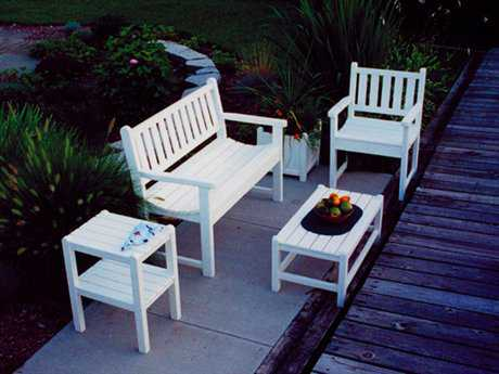 POLYWOOD® Traditional Garden Recycled Plastic Set PWTRADILS