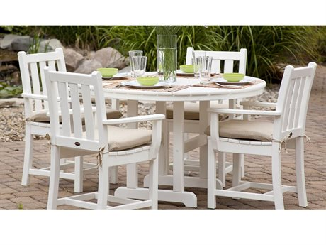 POLYWOOD® Traditional Garden Recycled Plastic Dining Set
