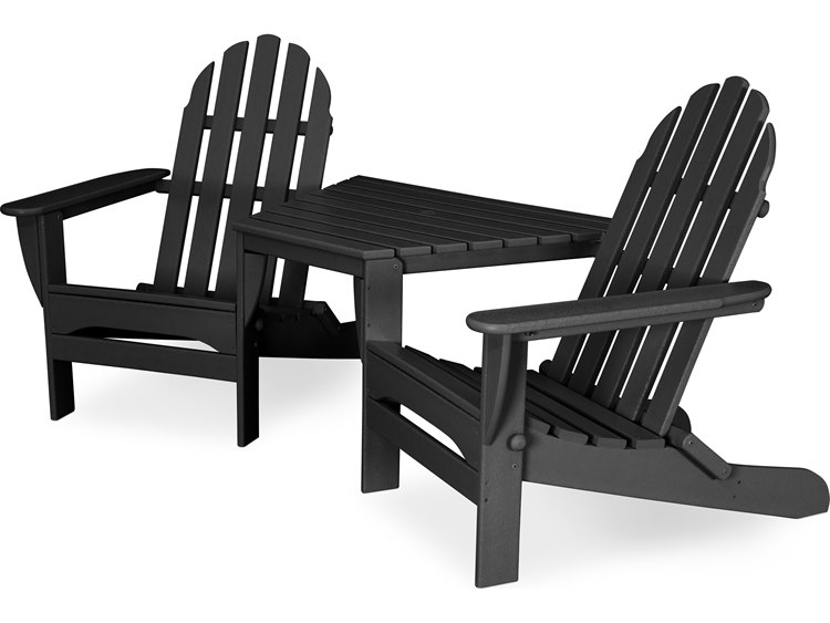 POLYWOOD® Classic Adirondack Recycled Plastic Tete-A-Tete