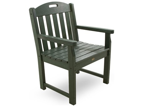 POLYWOOD® Trex Yacht Club Recycled Plastic Lounge Chair
