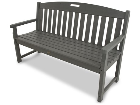 POLYWOOD® Trex Yacht Club Recycled Plastic Bench