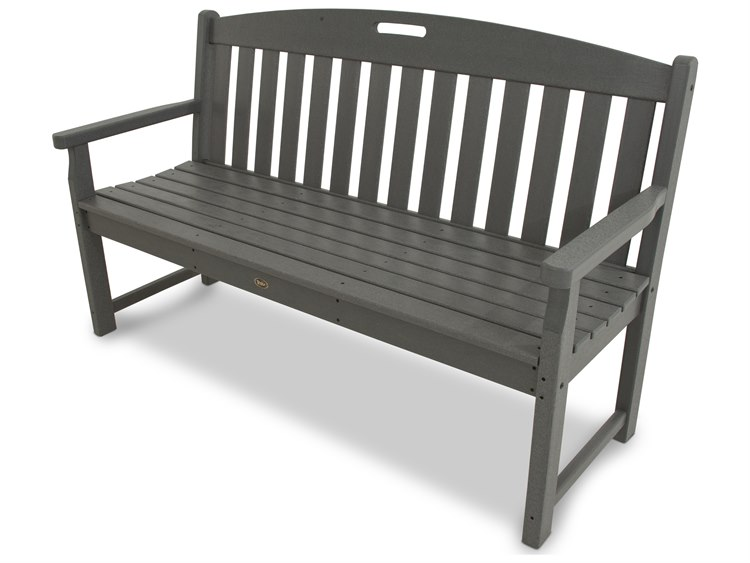 POLYWOOD® Trex Yacht Club Recycled Plastic Bench PatioLiving