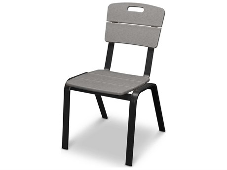 POLYWOOD® Nautic Cafe Aluminum Dining Side Chair