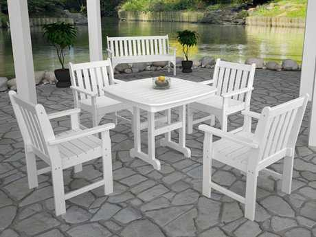POLYWOOD® Vineyard Recycled Plastic Dining Set PatioLiving