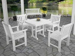 Vineyard Recycled Plastic Dining Set