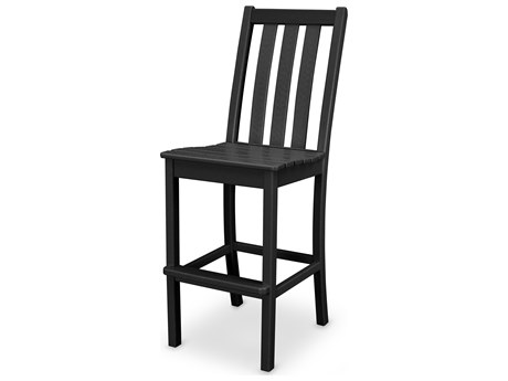POLYWOOD® Vineyard Recycled Plastic Bar Side Chair