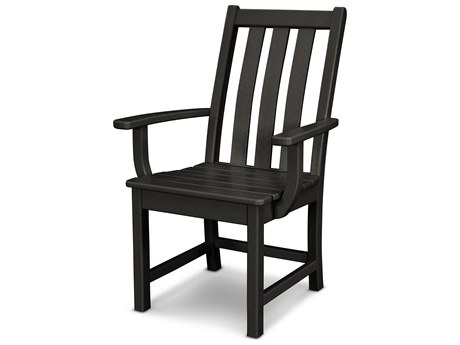 POLYWOOD® Vineyard Recycled Plastic Dining Arm Chair