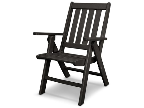 POLYWOOD® Vineyard Recycled Plastic Folding Dining Chair