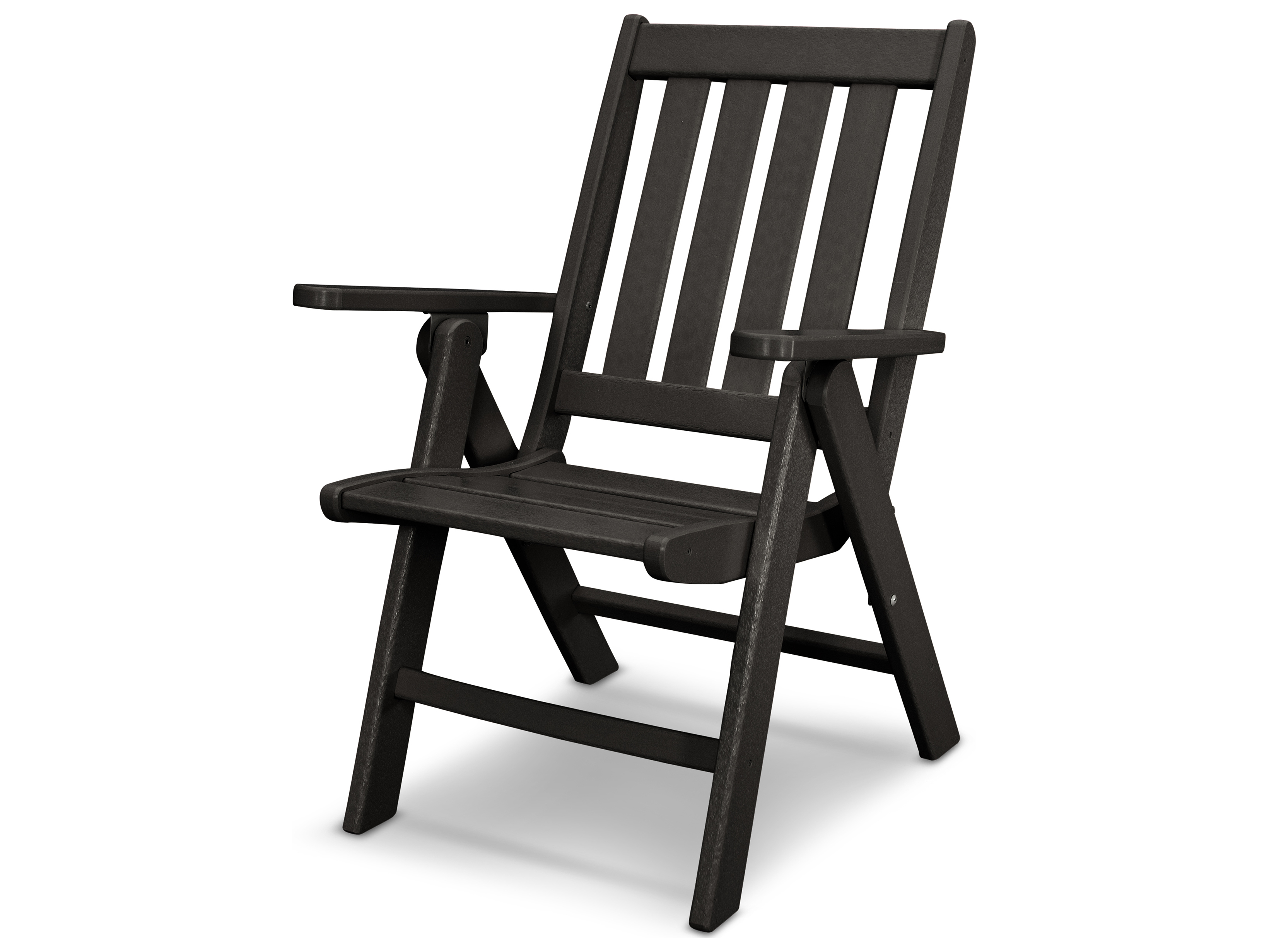 polywood vineyard folding dining chair pwvnd38. Black Bedroom Furniture Sets. Home Design Ideas