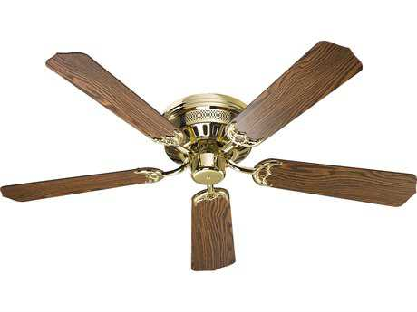 Quorum International Polished Brass 52'' Indoor Ceiling Fan