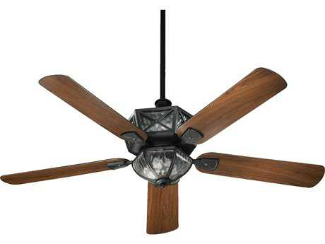 Quorum International Old World 52 Inch Outdoor Ceiling Fan with Light