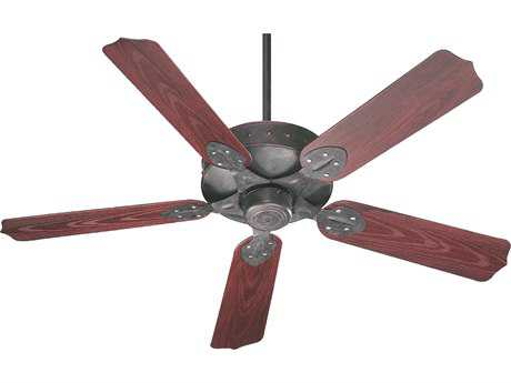 Quorum International Hudson Patio Toasted Sienna 52 Inch Outdoor Ceiling Fan